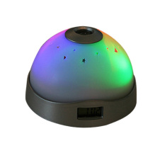 HKS Starry Digital Magic LED Projection Alarm Clock Night Light Color Changing (Intl)