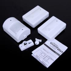 HKS Wireless Entry White 250g Separate Infrared Sensor Doorbell Two Driving One (Intl)
