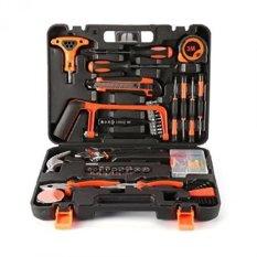 Hokonui Home Tool Kit,82 Pieces General Household Tool Kit for Home Maintenance with Plastic