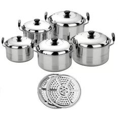 Home-Klik Cookware Set + Steamer ( 12 Pcs)