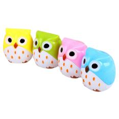 HomeGarden Pencil Sharpener Mini Cute Owl Pattern (Intl)