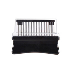 Hot Selling Professional Practice Meat Tenderizer with 48 Sharp Blades Of Stainless Steel Restaurant Kitchen Tool E5M1 (Intl)