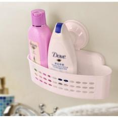 Household Product Storage Basket For Kitchen / Batchroomwith Strong Sucker Storage Holder Plastic Storage Racks Xhh05299 -Intl - Intl