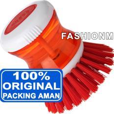IKEA Tartsmet Dish Washing Brush with Dispenser - Sikat Cuci Piring dengan Dispenser - Red
