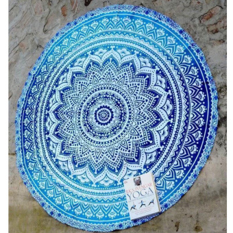 Indian Mandala Beach Throw Hippie Yoga Mat Towel Bohemian Tapestry Blanket - Intl