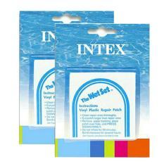 Intex repair patch 2 pcs penambal kebocoran pelampung / kasur air