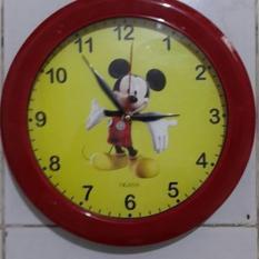 Jam Dinding Ogana Karakter Micky mouse .