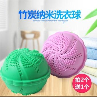 Bambu Mengambil Nano Bola Laundry Bola Laundry. Karbon Bambu Mengambil Nano Bola .