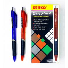 KENKO Ball Pen - Easy Flow 6 (1 Lusin)