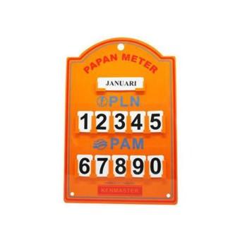 Kenmaster Papan Meter PLN PAM - Papan PLN PAM