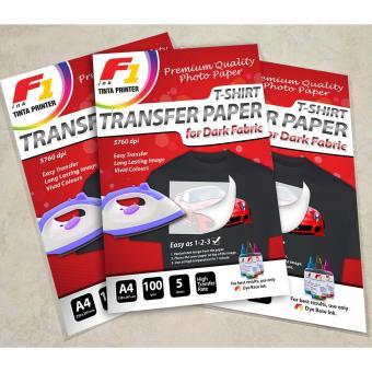 Price prom of mediatech dark fabric t shirt inkjet transfer paper kertas transfer paper dark f1 ink malvernweather Choice Image