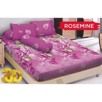 Kintakun D'luxe Rosemine Sprei Set 180x200x20