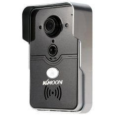 KKMMOON HD 720P Doorbell P2P Wireless WIFI Video Door Phone Visual Intercom Remote Unlock Support TF Card Phone Access