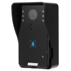 "KKMOON 7"" Video Door Phone Intercome Doorbell Touch Button Remote Unlock Night Vision Rainproof Security CCTV Camera Home Surveillance TP02K11 - Intl"