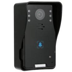 "KKMOON 7"" Video Door Phone Intercome Doorbell Touch Button Remote Unlock Night Vision Rainproof Security CCTV Camera Home Surveillance TP02K22 - Intl"