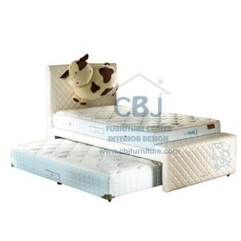 Lady Americana Kasur Springbed LA Kids Boneka Full Set Spring Bed Georgia 90x200 - Khusus Jabodetabek