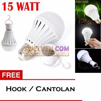 LED Autolamps Bohlam Emergency 15W Hook. LED Autolamps Bohlam Emergency 15W Hook .