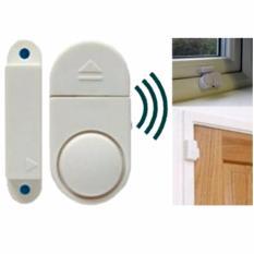 Lucky - Alarm Rumah Canggih Anti Maling - Alarm System Wireless Cocok Untuk Di Pintu, Jendela, Lemari, Etc - 1 Set