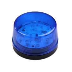 Lvzhi 12V LED Security Alarm Signal Lamp Warning Siren With BlueFlashing Light - Intl