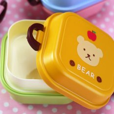 LZ Imixlot Animal Kids Meal Box Cute Mini Double Layer Lunch Box - Intl