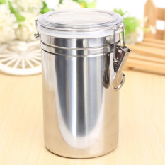 LZ Stainless Steel Airtight Sealed Canister Coffee Flour Sugar Teacontainer Holder Xl