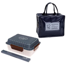 LZ Thermal Insulation Bag / Box.Food Storage Bag With Three Layers Lunchbox.Lunch Box.Thermal Insulation Bento Box.Snack Picnic Bag.Freshkeeping Storage Bag.Vegeable &Amp; Fruit.Home Living &Amp;Outdoor. (Navy) - Intl
