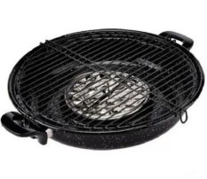 Maspion Magic Roaster Enamel 34 cm - Hitam