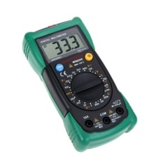 6000 Counts Source MASTECH MS8233C Digital Multimeter Type K Thermocouple Contact AC DC .