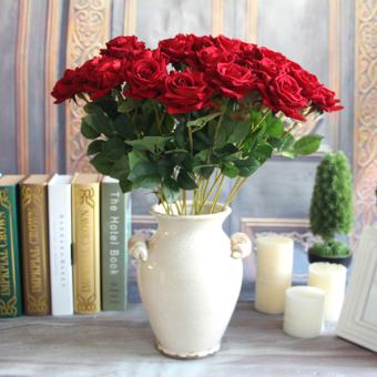 24 M Plastik Kain Sutra Mawar Bunga Ivy Tanaman Merambat Gantung Source · Palsu Buatan Sutra