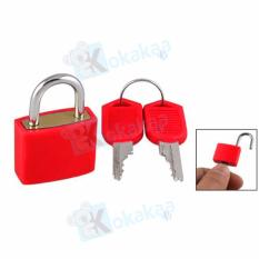 Maxxio Gembok Travel Mini Padlock Color - Merah