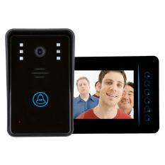 """MEGA 7"""" TFT 2.4G Wireless Video Intercom Doorbell Security CameraMonitor - Intl"""