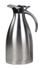 Mingjue Stainless Steel Vacuum Insulated Thermos Thermal Carafe With Press Button Top, Western Restaurant Supply
