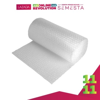 Mitra Loka - Bubble Wrap 100 x 125cm Plastik Gelembung Packing - Transparan