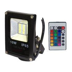 Miyalux Lampu Sorot LED SMD 10watt warna-warni