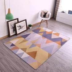 Modern Anti-slip Floor Mats and Rugs Washable Sofa Area Rugs Yoga Mat Soft Bedside