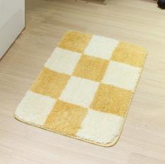 Modern Minimalist Grid Pattern Hot Sale Resistant Bedroom BathroomMat Living Room Carpet Doormat Coffee Table Hallway Floor Mats