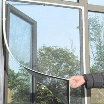 Cm Pintu Kawat Nyamuk Magnet Green Anti Nyamuk Serangga Net Tirai Pintu-
