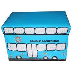 Nadaga Box Duduk Kotak Penyimpanan Box Mainan Tempat Penyimpanan Barang AJ2 .