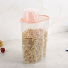 New Plastic 2.5L Kitchen Food Cereal Grain Bean Rice Storage Container Box - Intl