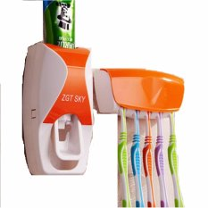 New Toothpaste Dispenser Odol - Dispenser Odol Orange Harga Grosir