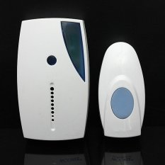 NEW White Portable Mini LED 36 Tune Songs Musical Music Sound Voice Wireless Chime Door Room Gate Bell Doorbell + Remote