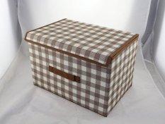 Non - Woven Fabric Storage Box Three - Tier Three - Fold Folding Storage Box Box Waterproof And Dustproof - Intl