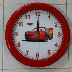 Ogana Clock - Jam Dinding Gambar Cartoon car