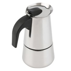 OH 2/4 / 6-Cup Percolator Stove Top Coffee Maker Moka Espresso Latte Stainless Pot Silver (Intl)