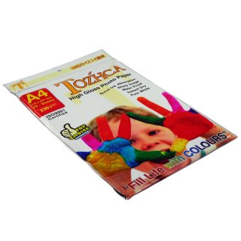 OHOME Glossy Paper A4 20 Sheets Photo Printing Kertas Foto 230 g - MS