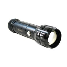 OHOME Senter Flashlight LED Serbaguna Strong - MS-XL6601 - Hitam
