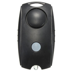 Personal Panic Rape Attack Safety Security Squeeze Alarm Protection With Light Black