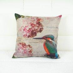 Personalized Hummingbird Throw Pillow Case Pillow Case Sofa Home Decor Cushion Cover (No Filling)