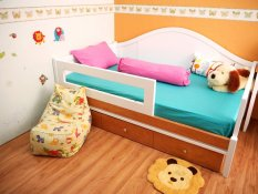Petite Elle Kids Sprei Set Anak Bedding Alexis Blue Candy Pink