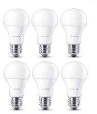 Philips LED Bulb 7W A60 - Putih - 6 Buah